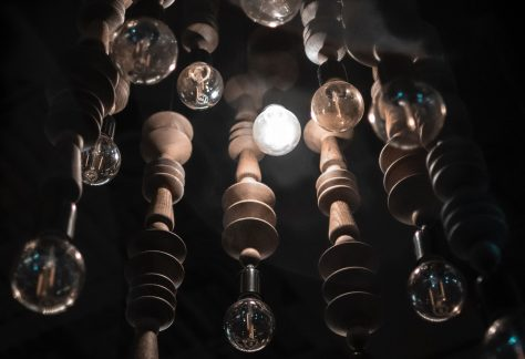 collection of lightbulbs