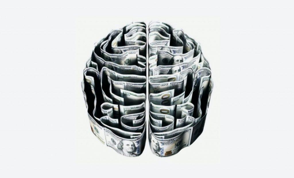 brain made of money