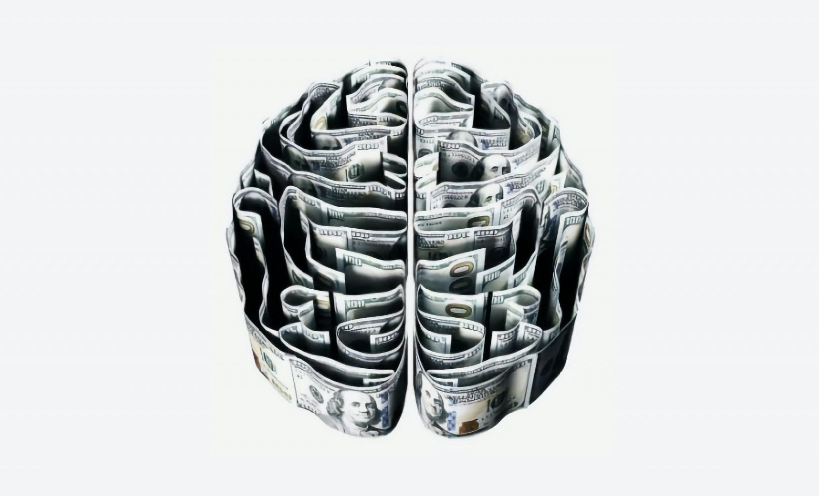 brain made of money